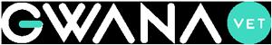 Logotipo de GWANA VET color blanco.
